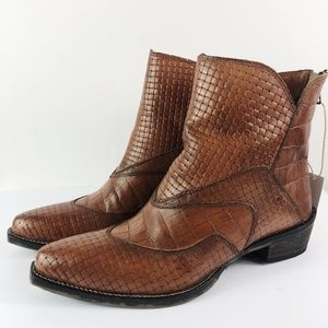 [ROPER] Lucky Shorty Boot Genuine Leather NEW